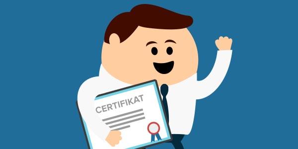 Certificering Vis dit værd