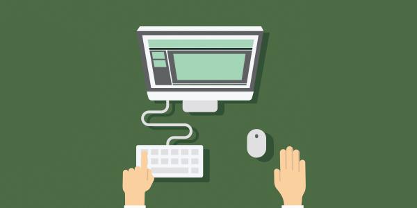 Hjemmeside e-læring gnidsningsfrit