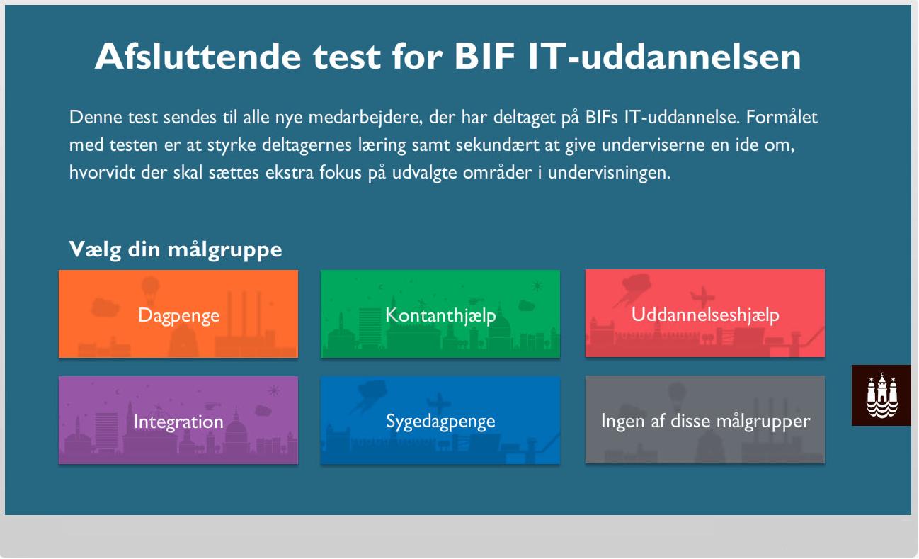 Københavns kommune e-læring