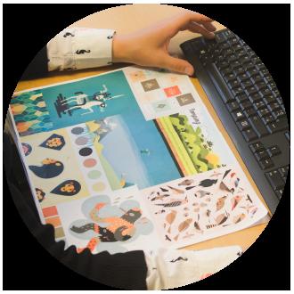 Kristine Ida e-læring grafisk designer