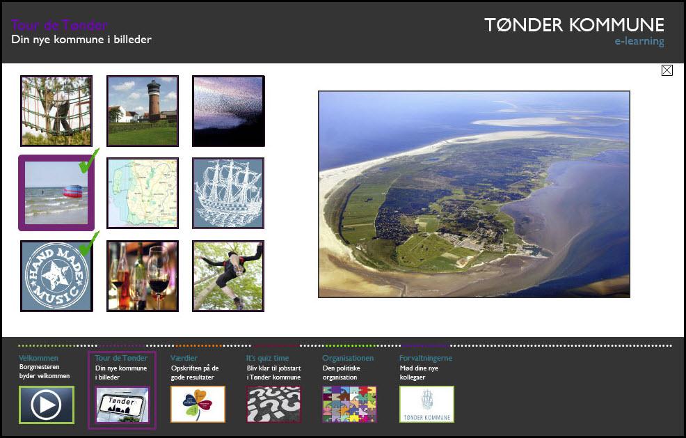 Tønder Kommune e-lærimg