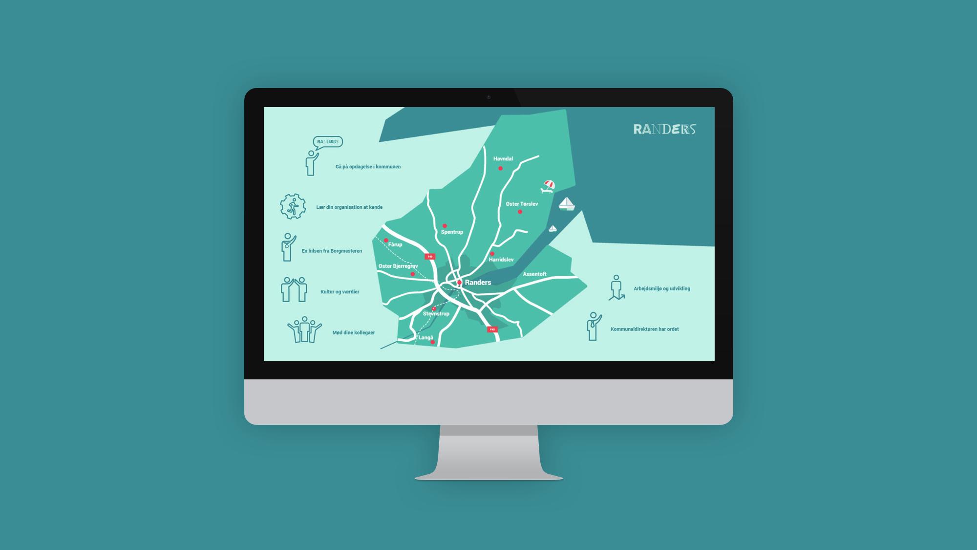 Randers Kommune e-læring: Introduktion til nye medarbejdere