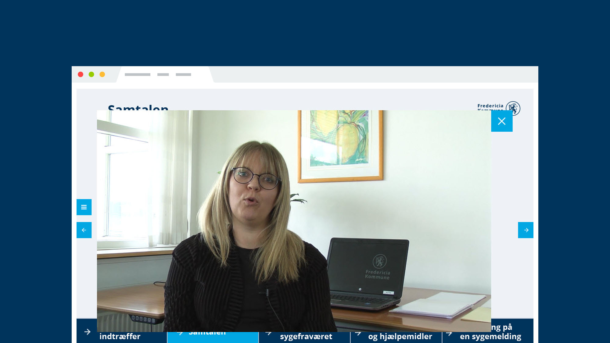 Fredericia Kommune e-læring: Sygefraværssamtalen for ledere