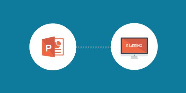 powerpoint til e-læring