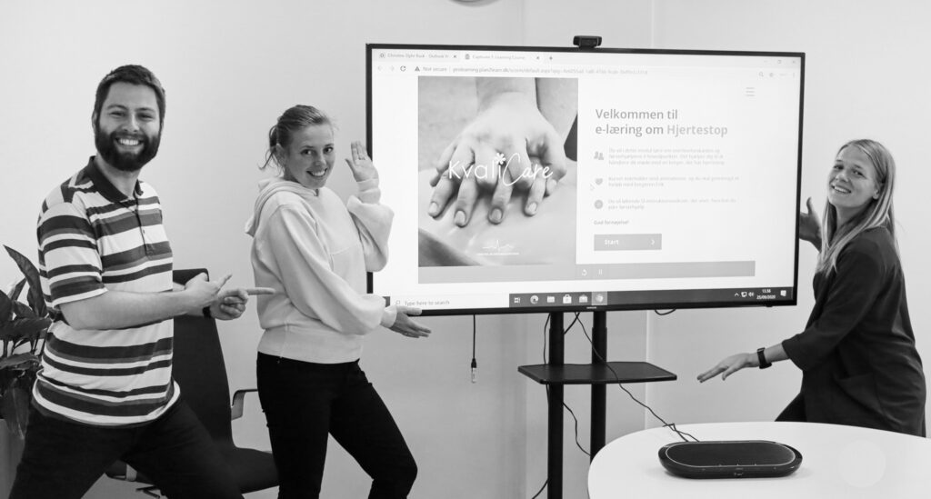 ProLearning har udviklet førstehjælpskurser til KvaliCare